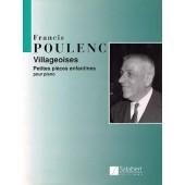 POULENC F. VILLAGEOISES PIANO