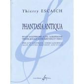 ESCAICH T. PHANTASIA ANTIQUA ENSEMBLE SAXOPHONES