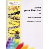 FAILLENOT M. SUITE POUR THERESE FLUTE