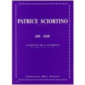 SCIORTINO P. SIF SOF ACCORDEON CLARINETTE