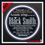 JEU DE CORDES ACOUSTIQUE BLACK SMITH AOT-PB1152 11/52