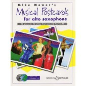 MOWER'S M. MUSICAL POSTCARDS SAXO ALTO
