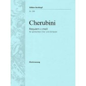 CHERUBINI L. REQUIEM C MOLL CHANT PIANO