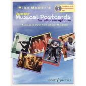 MOWER'S M. MUSICAL POSTCARDS JUNIOR SAXO ALTO