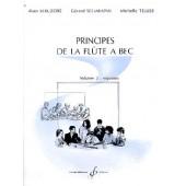 KERUZORE A./SCHARAPAN G./TELLIER M.  PRINCIPES DE LA FLUTE A BEC VOL 2