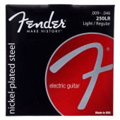 JEU DE CORDES GUITARE FENDER 250LR LIGHT REGIULAR 009/046