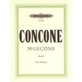 CONCONE G. 50 LEZIONI OP 9 VOIX BASSE PIANO