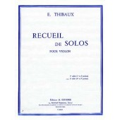 THIBAUX E. RECUEIL DE SOLOS VOL 2 VIOLON