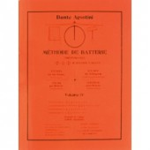AGOSTINI DANTE METHODE DE BATTERIE VOL 4