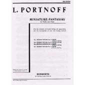PORTNOFF L. FANTAISIE RUSSE N°3 VIOLON