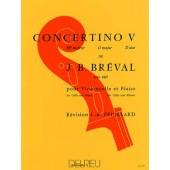 BREVAL J.B. CONCERTINO N°5 VIOLONCELLE
