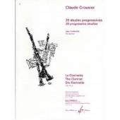 CROUSIER C. ETUDES PROGRESSIVES CLARINETTE