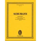 SCHUMANN R. QUINTETTE OP 44 PIANO ET CORDES CONDUCTEUR