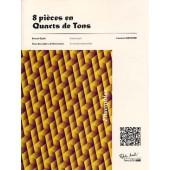 FLECHIER L. 8 PIECES EN QUARTS DE TONS 2, 3 ET 4 CLARINETTES