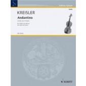 KREISLER F. ANDANTINO VIOLON