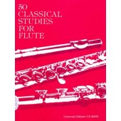 VESTER 50 CLASSICAL STUDIES FOR FLUTE