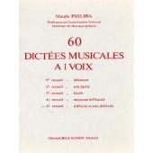 PHILIBA N. 60 DICTEES MUSICALES A 1 VOIX VOL 5