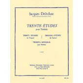 DELECLUSE J. ETUDES (30) 1ER CAHIER TIMBALES