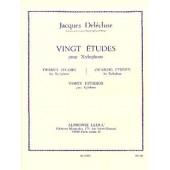 DELECLUSE J. ETUDES (20) XYLOPHONE