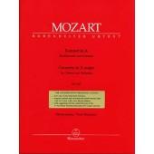 MOZART W.A. CONCERTO LA MAJEUR KV 622 CLARINETTE