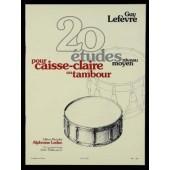 LEFEVRE G. ETUDES (20) CAISSE CLAIRE