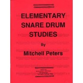 PETERS M. ELEMENTARY SNARE DRUM STUDIES