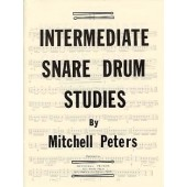 PETERS M. INTERMEDIATE SNARE DRUM STUDIES FOR SNARE DRUM