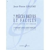 LEGUAY J.P. 7 PIECES BREVES FLUTE