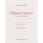 RIMSKY-KORSAKOV N. CHANSON INDOUE FLUTE OU VIOLON