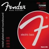 JEU DE CORDES BASSE ELECTRIQUE FENDER 7520M LONG SCALE 045/105