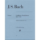 BACH J.S. GOLDBERG VARIATIONS BWV 988 PIANO