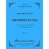 DELGIUDICE M. TROMPETUNIA TROMPETTE UT OU SIB PIANO