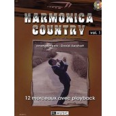 HERZHAFT D. HARMONICA COUNTRY VOL 1