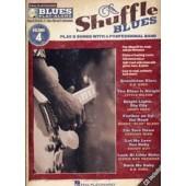 BLUES PLAY-ALONG VOL 04 SHUFFLE BLUES BB, EB, BASS CLEF ET C INCTRUMENTS