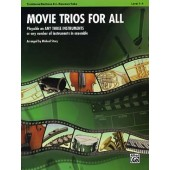 MOVIE TRIOS FOR ALL TROMBONES OU BASSONS OU EUPHONIUMS