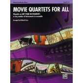 MOVIE QUARTETS FOR ALL ENSEMBLE VARIABLE PIANO CONDUCTEUR HAUTBOIS