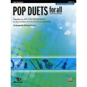 POP DUETS FOR ALL VIOLONCELLES OU CONTREBASSES