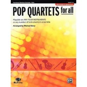 STORY M. POP QUARTETS FOR ALL TROMBONES OU TUBAS OU EUPHONIUMS