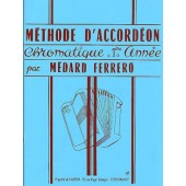 FERRERO M. METHODE ACCORDEON 1RE ANNEE