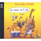 SICILIANO M.H. ON AIME LA F.M. 6ME ANNEE CD