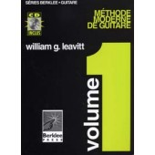 BERKLEE/LEAVITT METHODE MODERNE GUITARE VOL 1 AVEC CD
