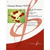 VIOTTI G.B. 1ER SOLO DU 22ME CONCERTO VIOLON