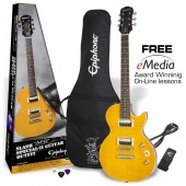 PACK EPIPHONE LES PAUL SLASH SPECIAL II AFD GUITAR OUTFIT LTD EDITION 2014 APPETITE AMBER