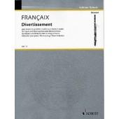 FRANCAIX J. DIVERTISSEMENT BASSON