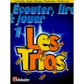 ECOUTER LIRE JOUER LES TRIOS VOL 1 TROMPETTES/BUGLES/BARYTONS