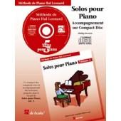 HAL LEONARD LES SOLOS POUR PIANO VOL 5