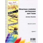 NAULAIS J. HEUREUX COMME UN BASSON SUR L'EAU BASSON