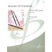OUZOUNOFF A. 36 NOUVELLES ETUDES VOL 1 BASSON