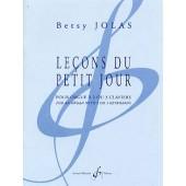 JOLAS B. LECONS DU PETIT JOUR ORGUE