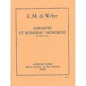 WEBER C.M. ANDANTE ET RONDEAU HONGROIS BASSON